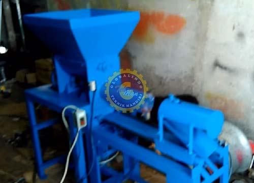 Mesin Pencetak Baglog Jamur – Semi Otomatis
