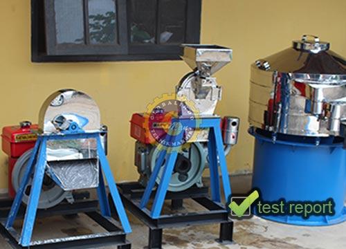 Mesin Penepung Ubi Kayu Tipe Piringan (Diskmill)