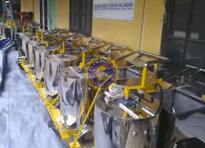 Mesin Marka Jalan Thermoplastic - Globalindo Teknik Mandiri