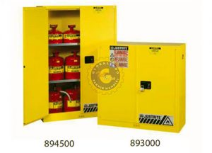 Justrite Safety Cabinets for Flammables