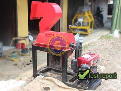 mesin pencacah kulit buah kakao
