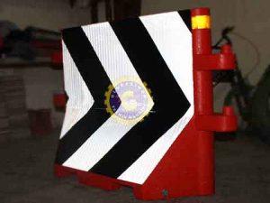 Road Barrier Chevron