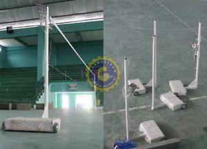 tiang badminton portable