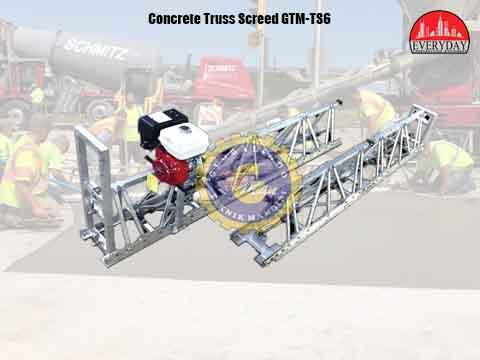 concrete truss screed