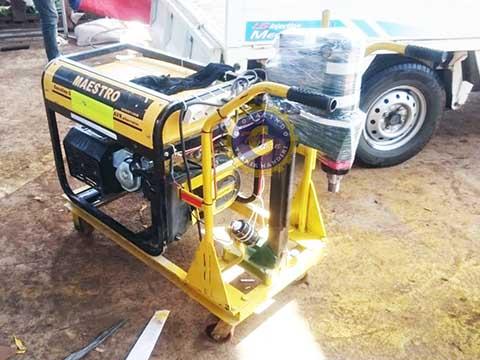 mesin core drill aspal