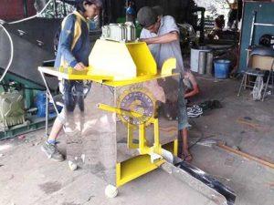 mesin pemasak cat thermoplastic