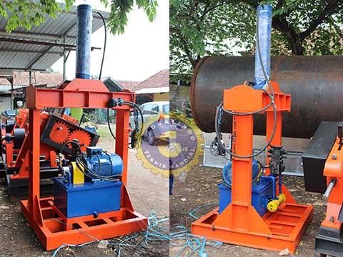 mesin press hidrolik karet