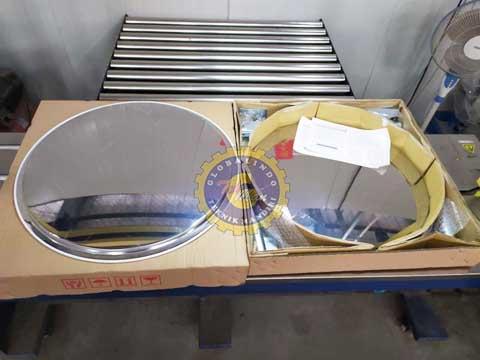 Convex Mirror Stainless Steel