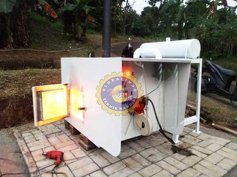 Mesin Incinerator Sampah Organik
